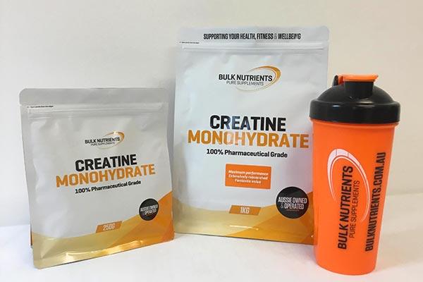 Bulk Nutrients Creatine Monohydrate Bags