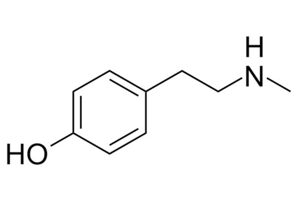 N-Methyl-Tyramine chemical structure