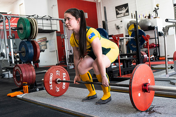 One of the benefits of powerlifting for women is the improvement of muscle mass and bone density, this is an especially important benefit as you age.