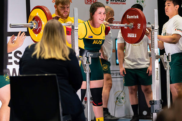 Powerlifting is a sport of strength combining the three big lifts: squat, bench press and deadlift