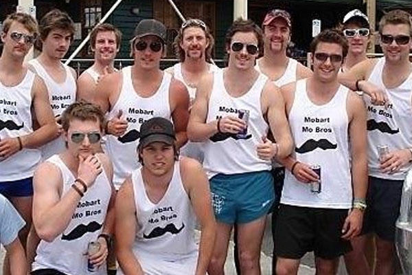 The Mobart Mo Bros has been the highest fundraising team in Australia for the past 4 years, raising over 900 thousand dollars for Movember in total.