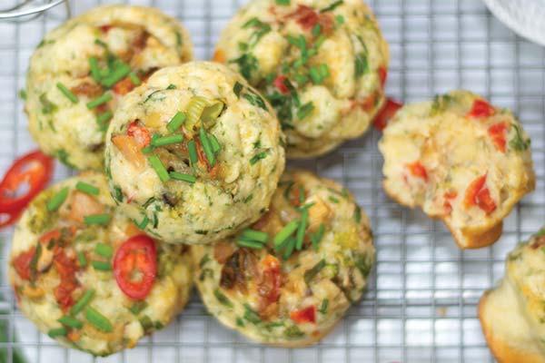 Hot Egg Muffins