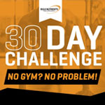 No Gym? No Problem! Try Bulk Nutrients' Free Fitness Challenges