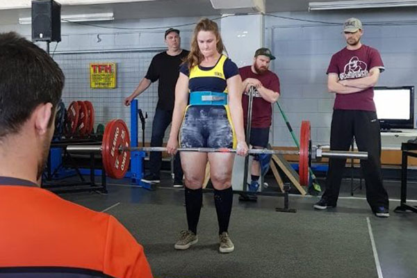 The deadlift is probably my favourite lift and they moved so fast on the day