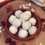 Raspberry Coconut Protein Balls