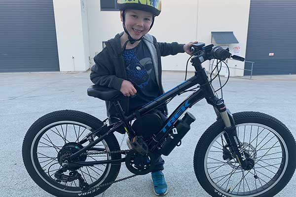 E bike for my son from parts off EBay