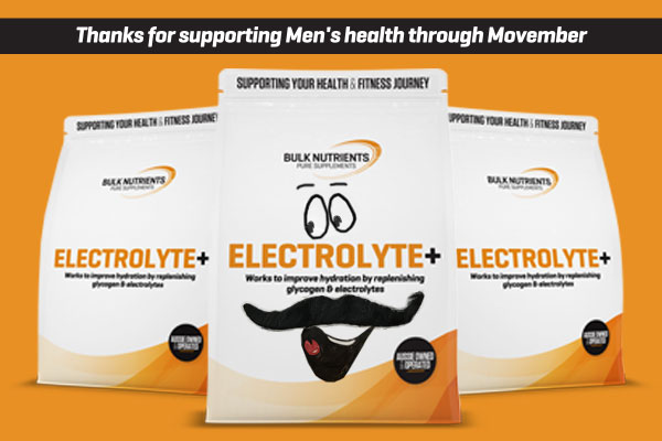 All sales of Electrolyte Plus in November 2020 will be donated to the Mobart Mo Bros