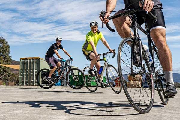Commuting by bike