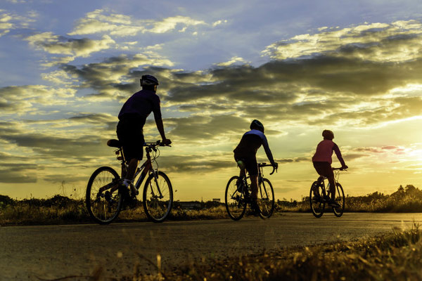 Cycling is fun and fitness for the whole family