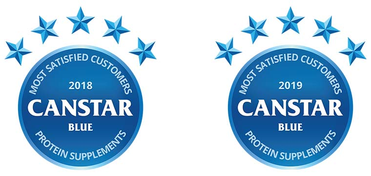 Bulk Nutrients was rated number #1 for customer satisfaction in 2018 and 2109