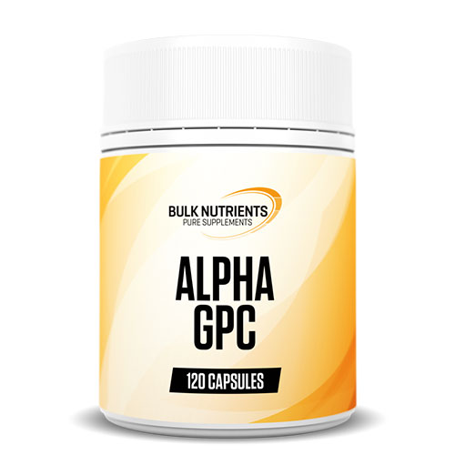 Bulk Nutrients Alpha GPC available in 50g pouches