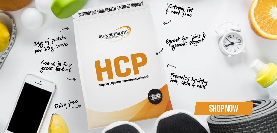 HCP Support Ligament and Tendon Health