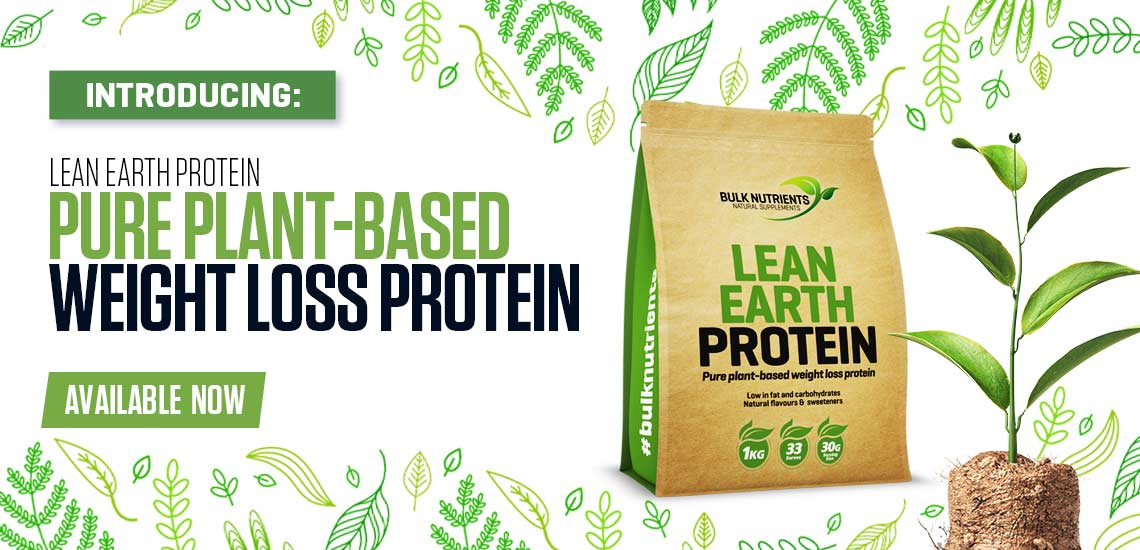 Introducing: Bulk Nutrients' Lean Earth Protein - Pure Plant-Based Weight Loss Protein