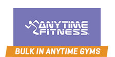 Bulk Nutrients partners with Anytime Fitness Gyms Find out more!