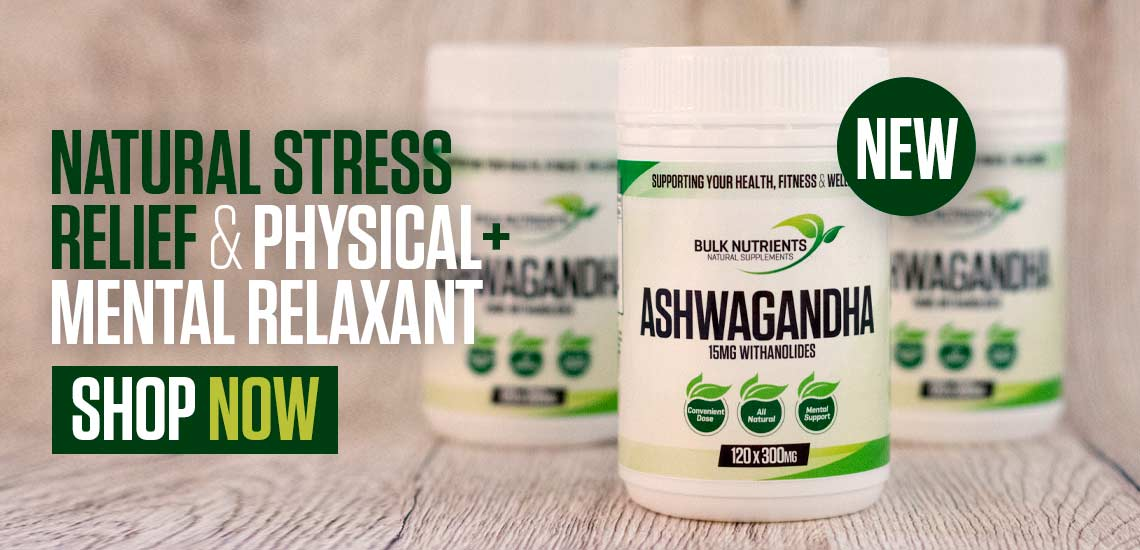 Natural Stress Relief & Physical + Mental Relaxant - Ashwagandha Shop Now