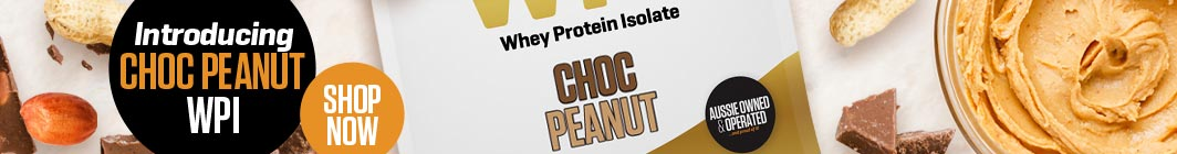 NEW - WPI is now available in Choc Peanut - Shop Now