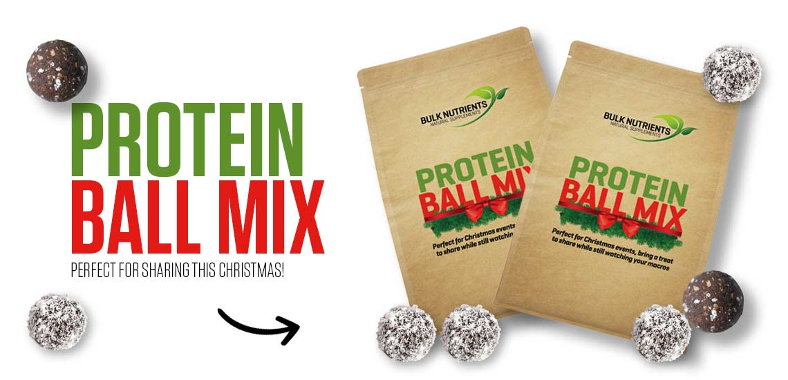 Bulk Nutrients' Protein Balls are available in Choc Raspberry just in time for Christmas!