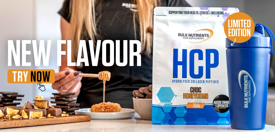 New limited edition - Hydrolysed Collagen Peptides - Choc Honeycomb. Try Now