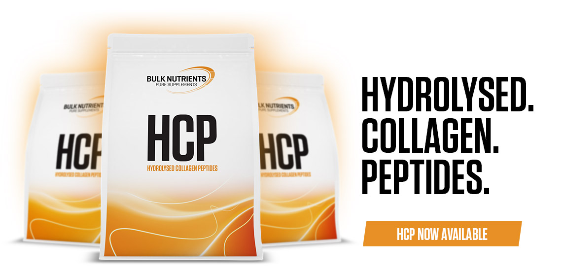 HCP is a light tasting hydrolysed collagen protein that's easily digested and completely dairy free!