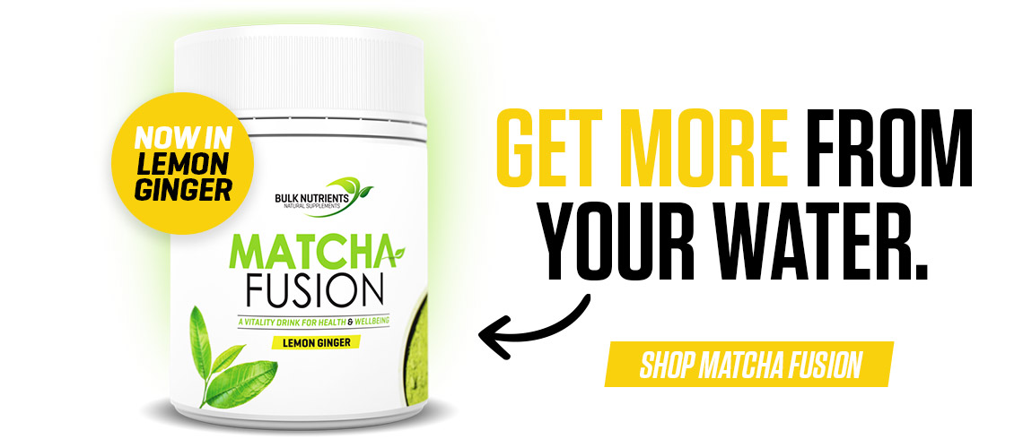 Matcha Fusion is now in Lemon Ginger.  Check it out now!