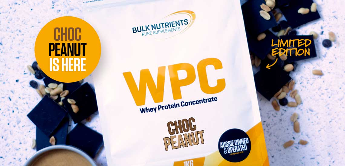 The Limited Edition WPC Flavour Choc Peanut is here!