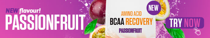 New flavour - BCAA Recovery - Passionfruit - Try Now