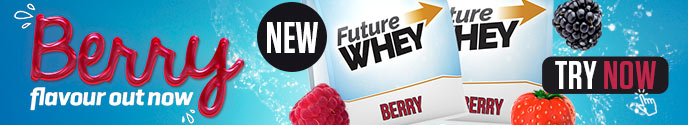 New flavour - Future Whey - Berry - Try Now