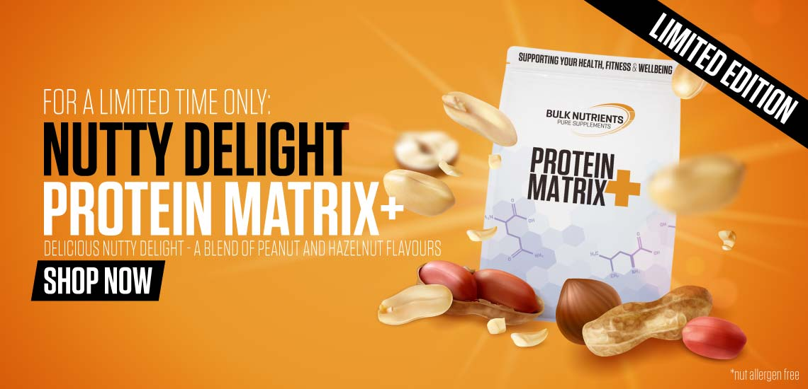 Limited Edition flavour for Protein Matrix+ Nutty Delight