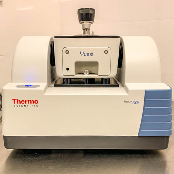 Over the last 12 months we have taken it a step further, with our own in-house THERMO SCIENTIFIC spectrometer
