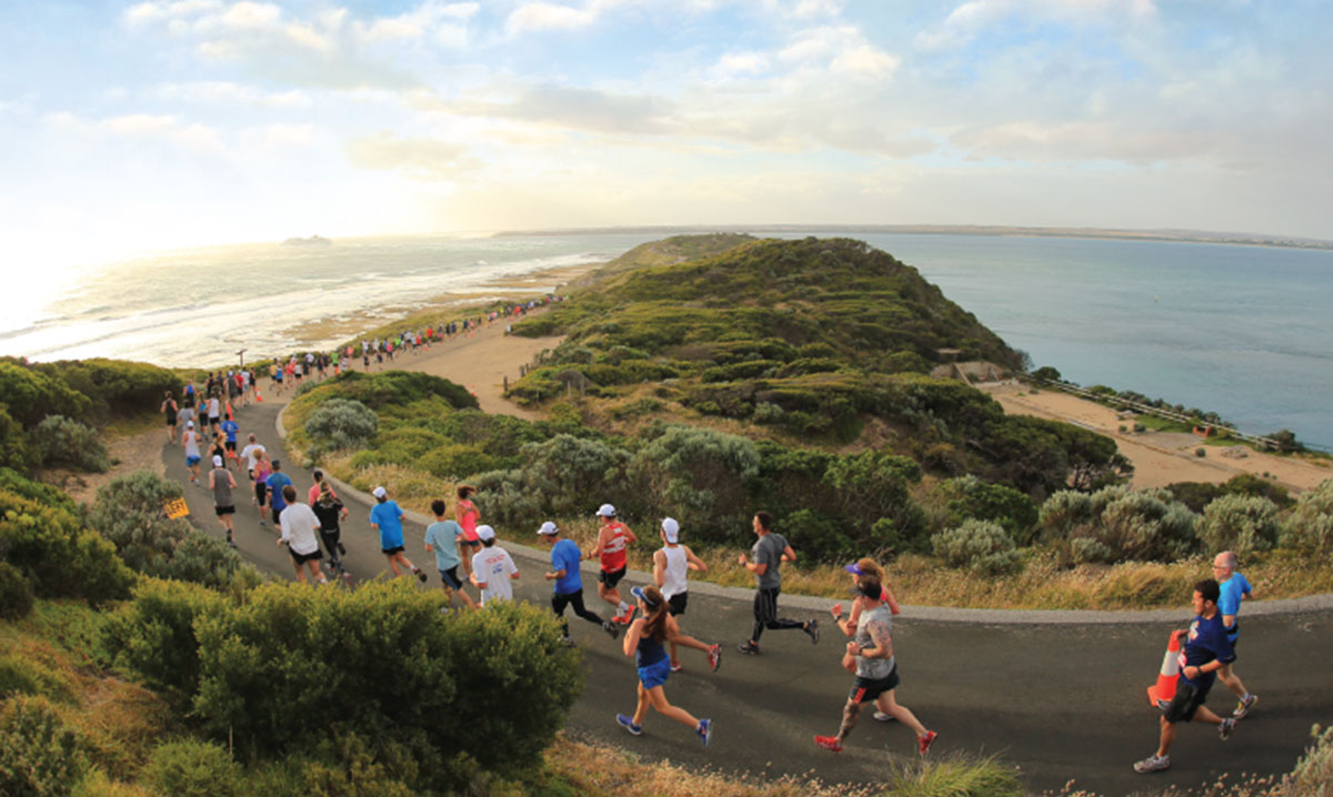 Experience epic views and insta worthy sunsets on the Portsea Twilight run