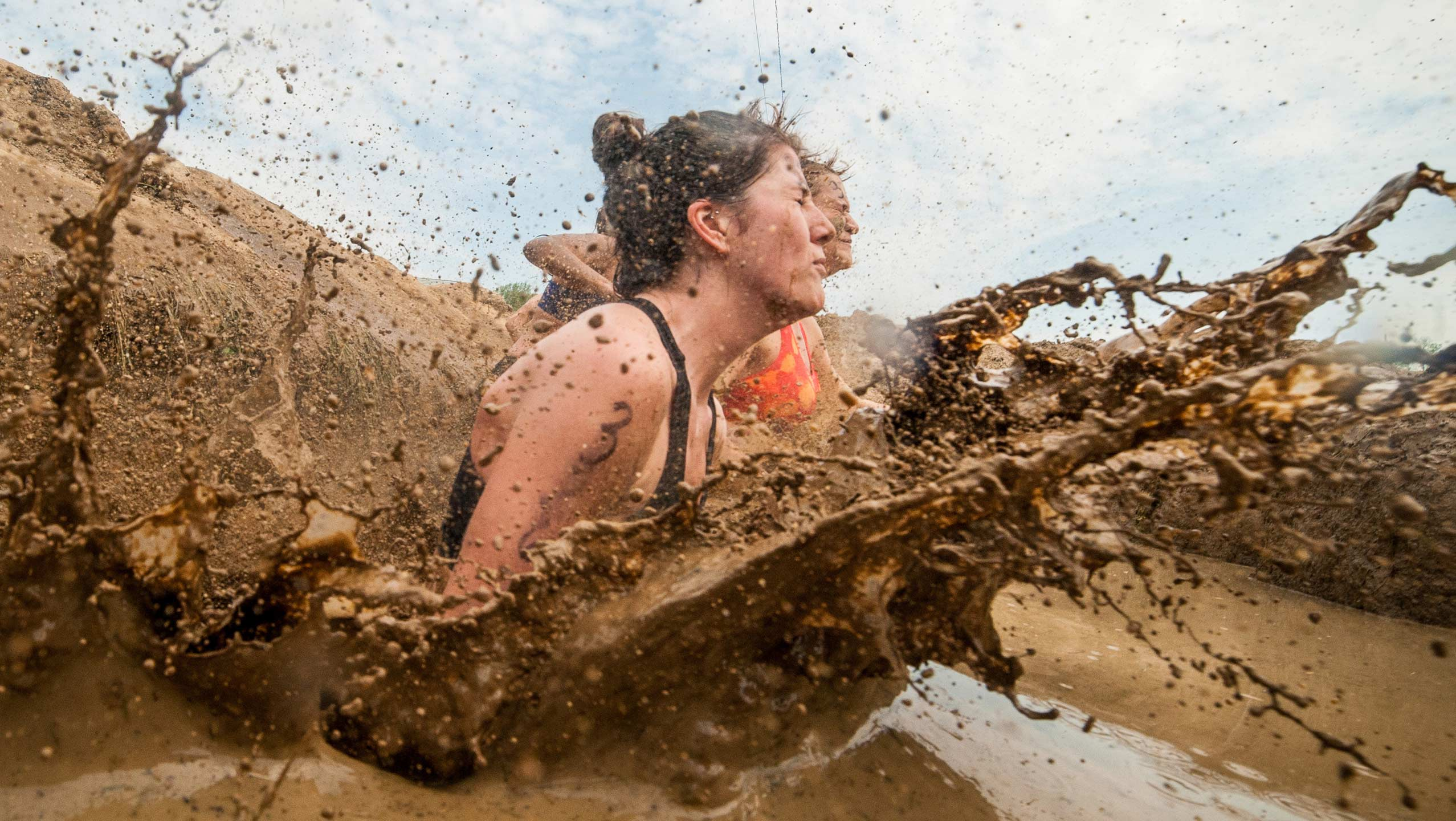 Tough Mudder combines distances with obstacles and a whole lot of mud