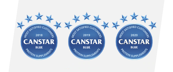 Bulk Nutrients was rated number #1 for customer satisfaction in 2018, 2019 and 2020
