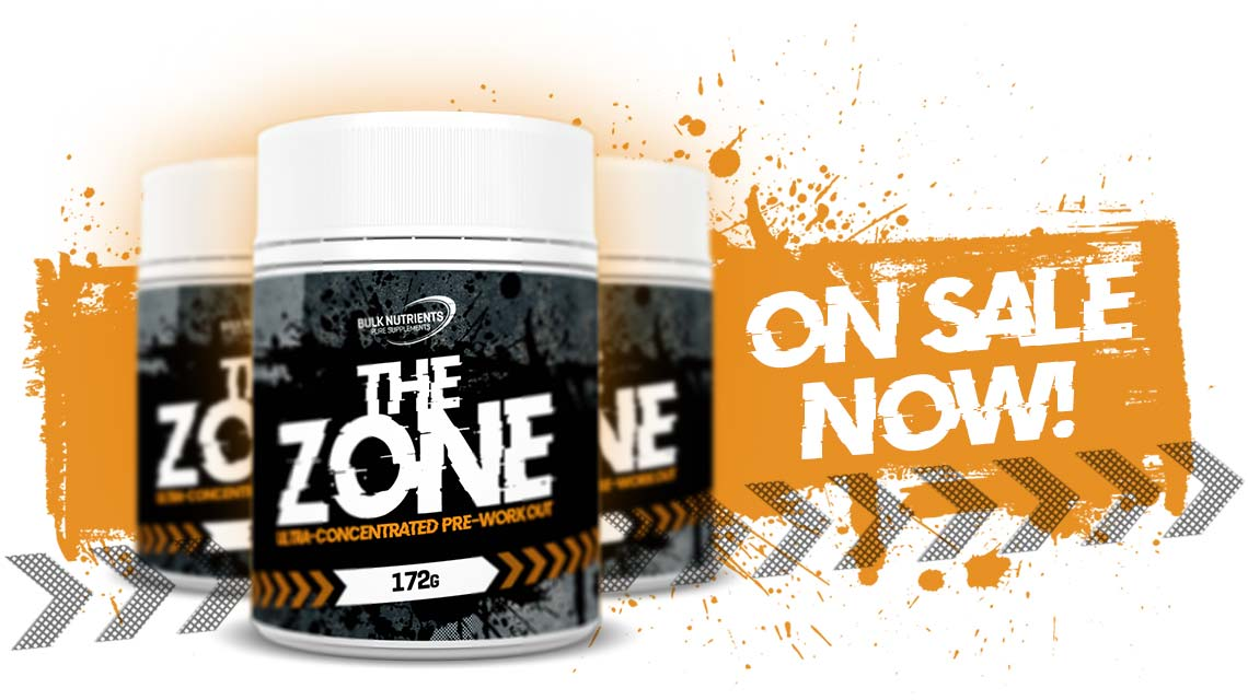 Bulk Nutrients latest pre workout is now available - The Zone!
