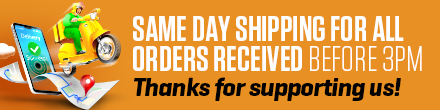 Bulk Nutrients provies same day shipping for orders placed before 3pm