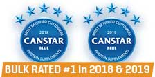 Bulk Nutrients was rated number #1 for Customer Satisfaction in 2018 and 2019