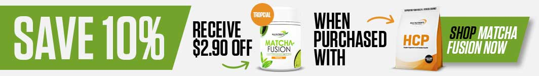 Save 10% off Match Fusion when purchased with HCP - Save $2.90
