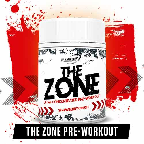 Bulk Labs is here featuring The Zone Pre Workout