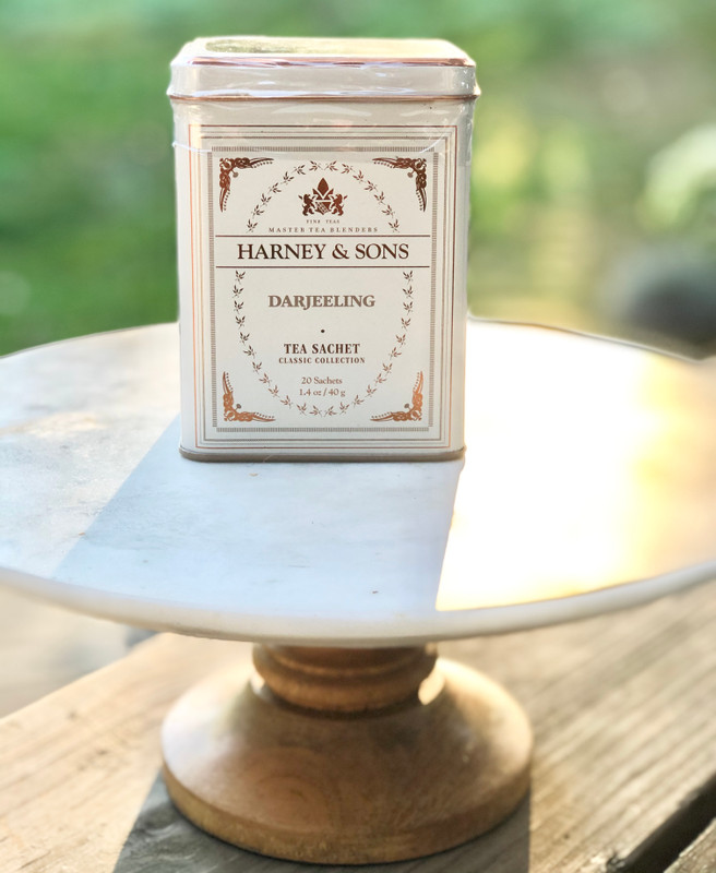 Harney & Sons Darjeeling Tea Sachets Tin
