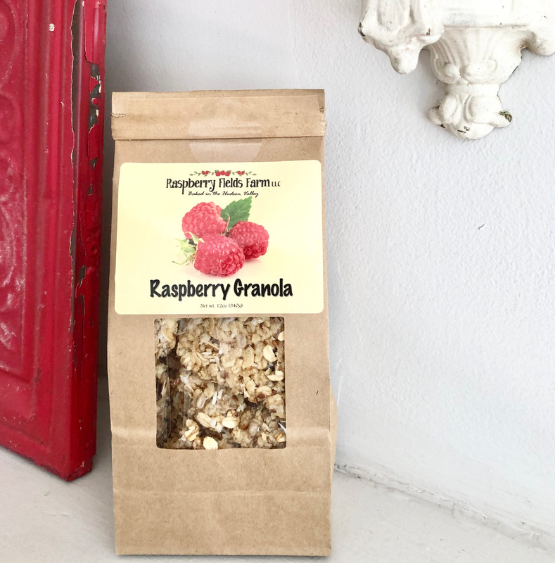 Artisan Raspberry Granola 12 oz. Bag
