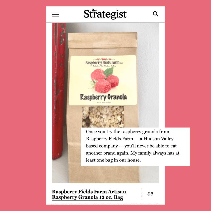 Artisan Raspberry Granola 12 oz. Bag