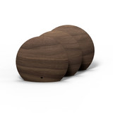 5 inch boop shelf in walnut three pack