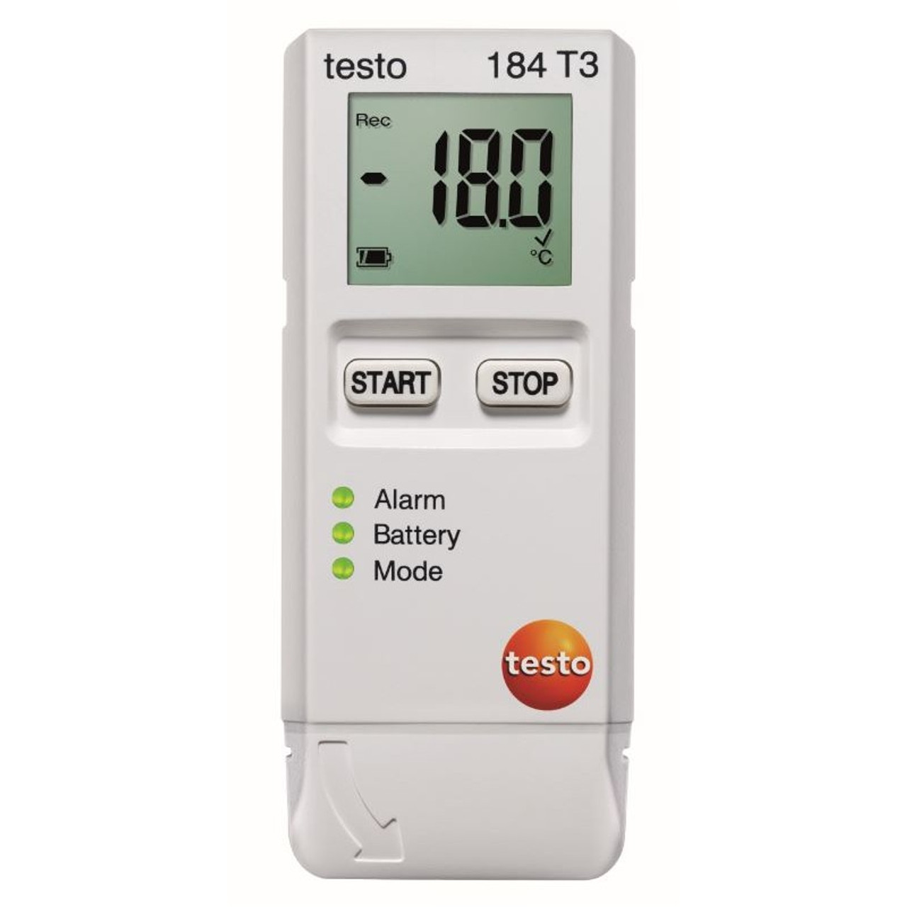 Testo 184 T3 temperature data logger.