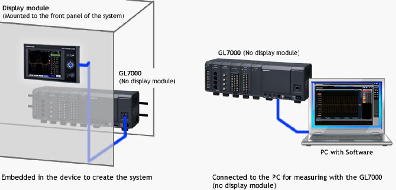 Graphtec GL7-DISP remote display.