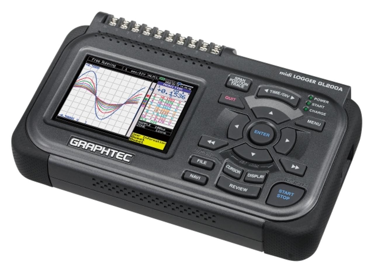 Graphtec GL200A data logger