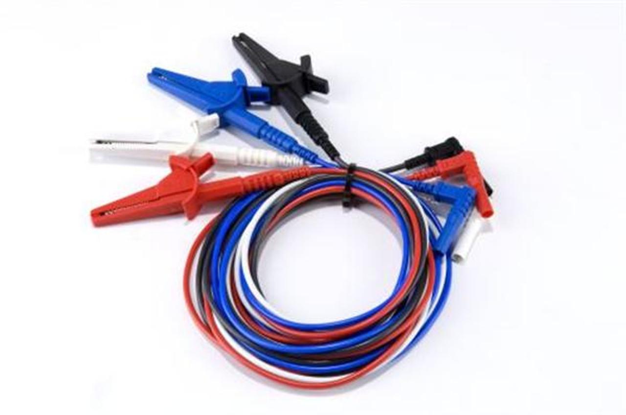 Electrocorder Fused voltage input lead set.