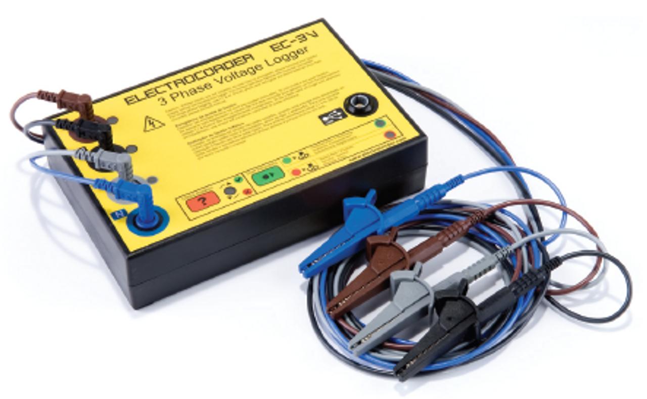 Electrocorder EC-3V voltage logger.