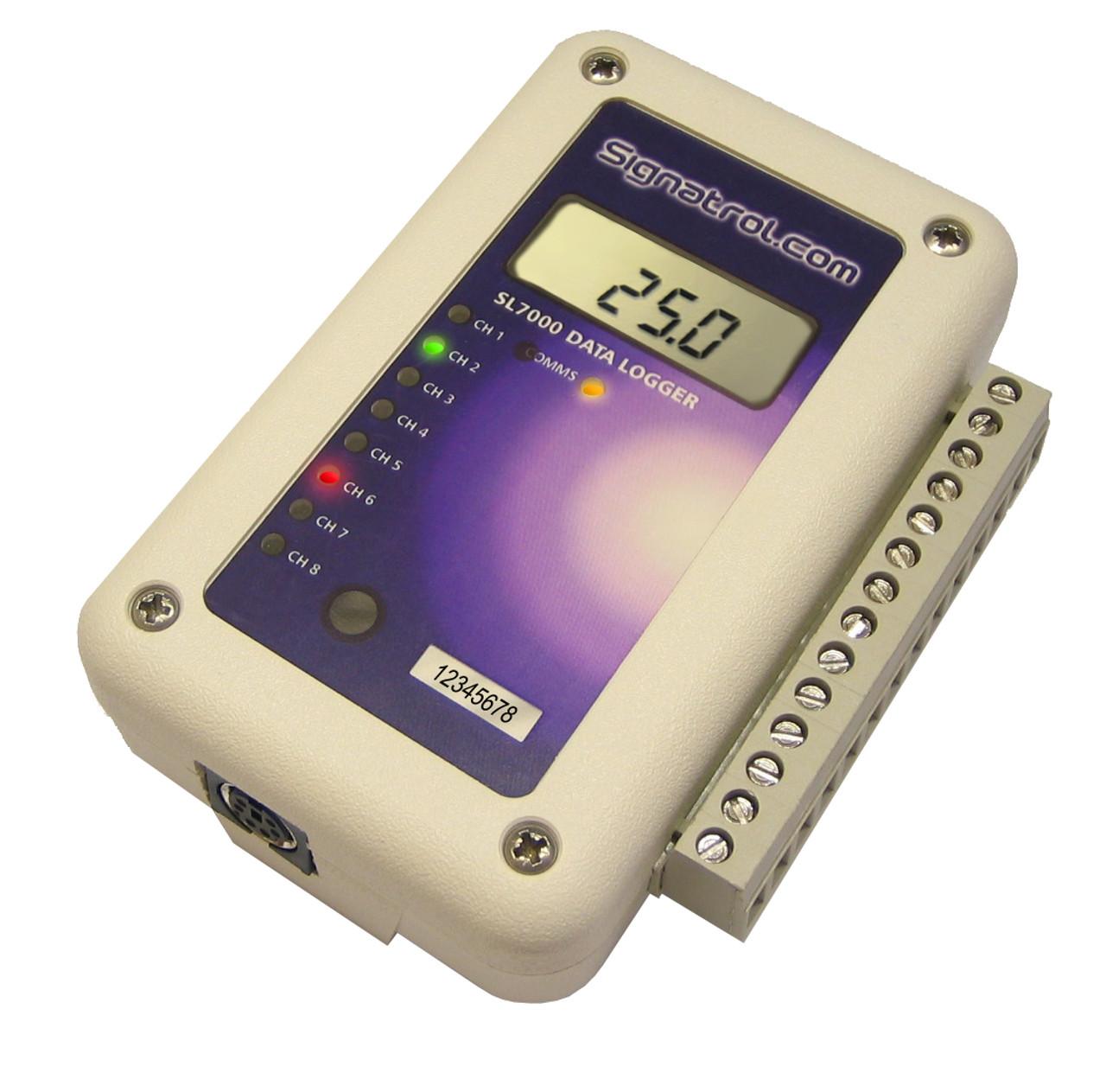 Signatrol SL7104 data logger.