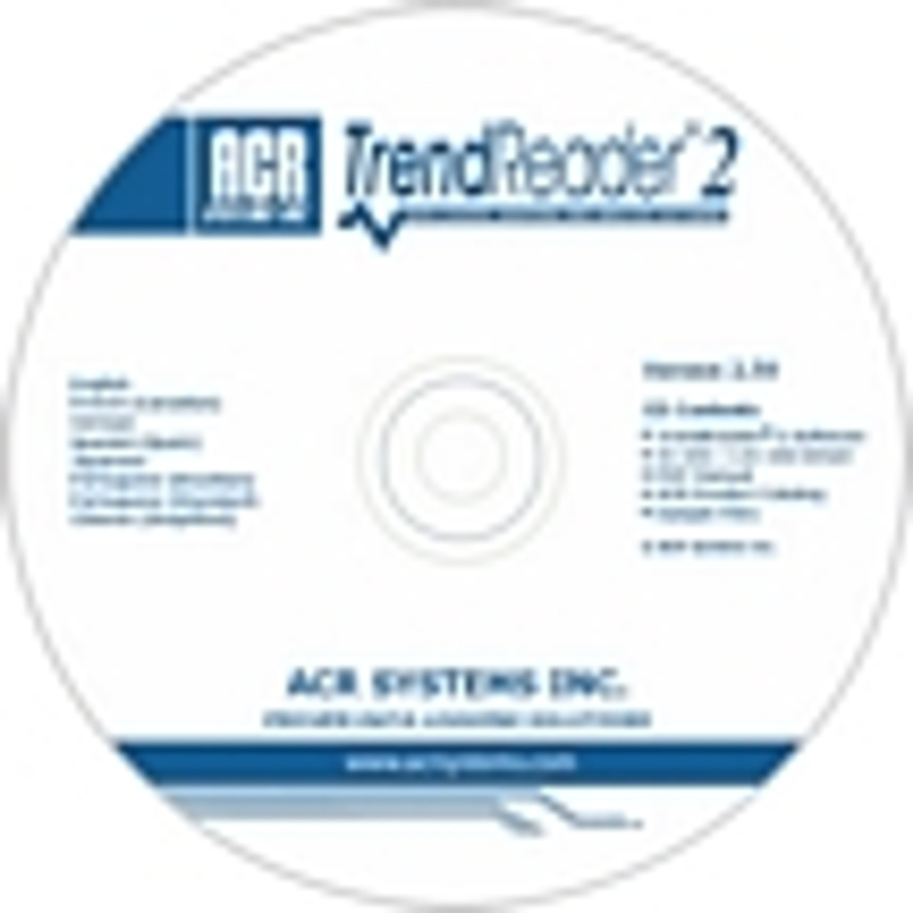 ACR Systems TrendReader Software.