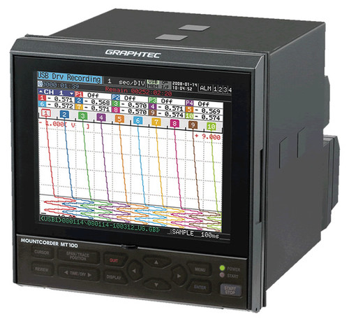 Graphtec MT100 Paperless Chart Recorder
