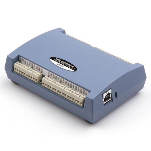 Measurement Computing USB-TC data acquisition module.